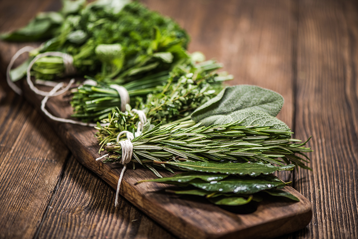 natural aromatic herbs