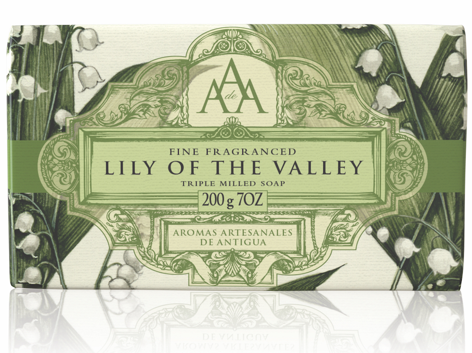 AAA Floral Soap Bar Lily of the Valley High Res