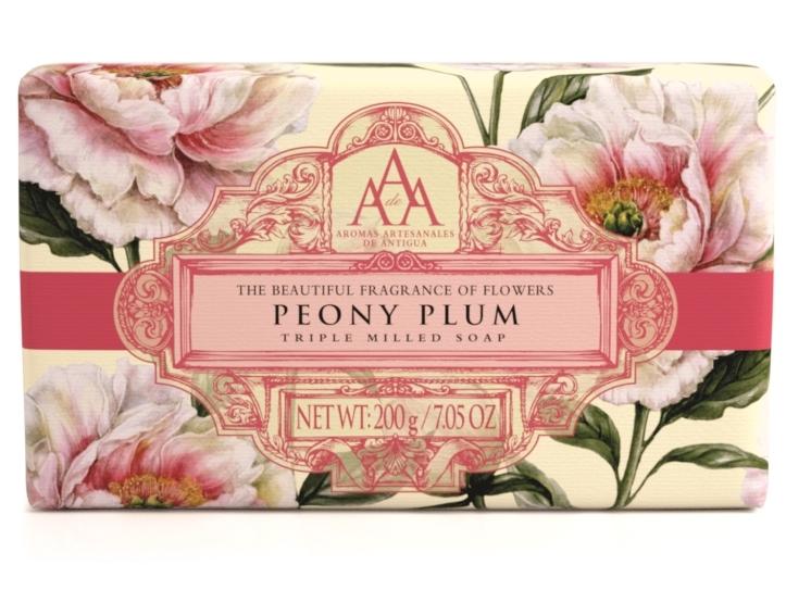 AAA Triple Milled Soap - Peony Plum